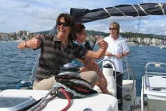 Frauenskippertraining Mallorca