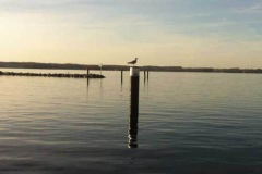 Ostsee  im April